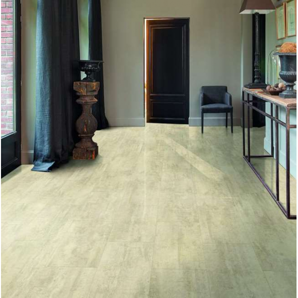 Quick-Step Livyn Ambient Click Cream Travertine AMCL40046 Vinyl Flooring