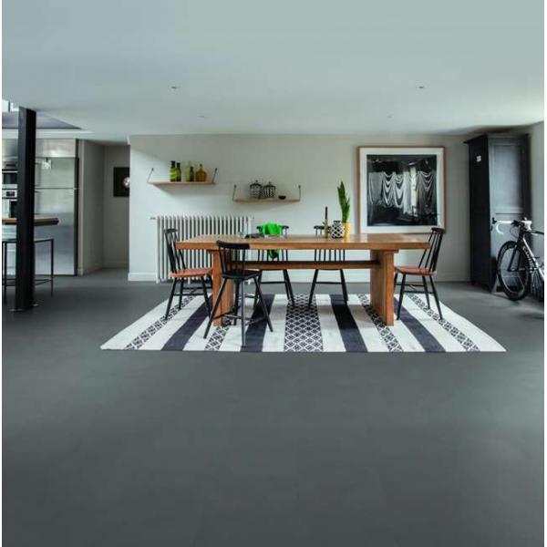 Quick-Step Livyn Ambient Click Minimal Medium Grey AMCL40140 Vinyl Flooring