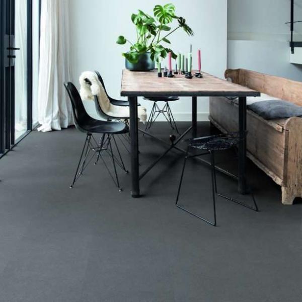 Quick-Step Livyn Ambient Click Plus Vibrant Medium Grey AMCP40138 Vinyl Flooring