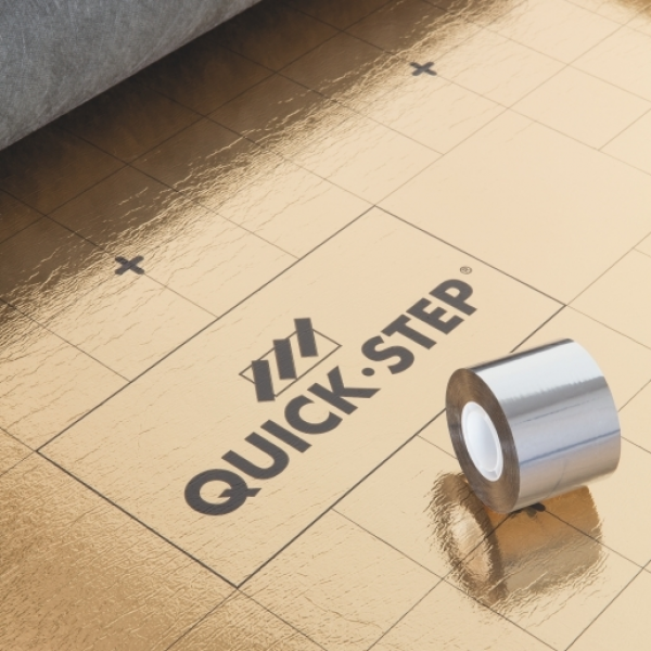 Quick-Step Silent Walk Underlay  (7m2 roll) and Tape