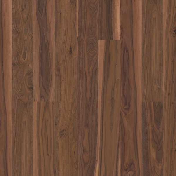 BOEN Walnut American Animoso 1-Strip 138mm Matt Lacquered Engineered Wood Flooring
