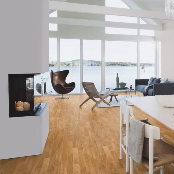 BOEN Finesse Oak Matt Lacquered Parquet Engineered Flooring