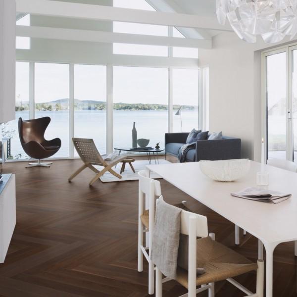 Boen Oak Smoked Prestige Oiled Engineered Wood Flooring