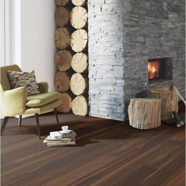 BOEN Finesse Oak Smoked Matt Lacquered Parquet Engineered Flooring