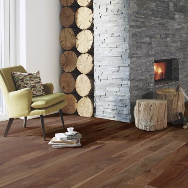 BOEN Finesse Walnut American Matt Lacquered Parquet Engineered Flooring