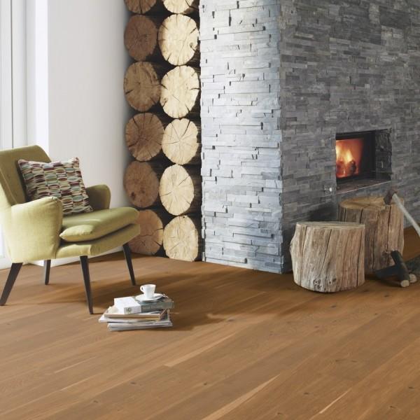 BOEN Finesse Oak Honey Brushed Oiled Parquet Engineered Flooring