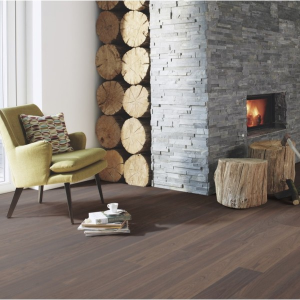 BOEN Finesse Oak Stone Oiled Parquet Engineered Flooring (D)