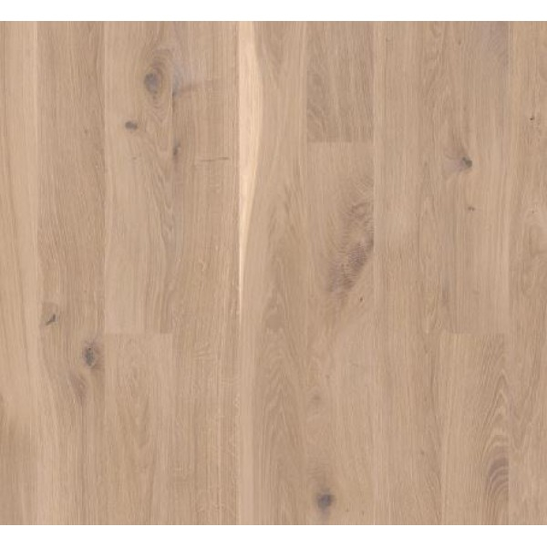 BOEN Oak White Vivo 1-Strip 138mm Micro Bevelled Matt Lacquered