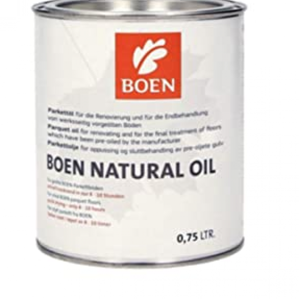 BOEN Natural Oil for Unfinished Wood Surfaces