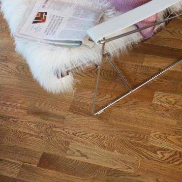BOEN Oak Alamo 3-Strip 215 Oiled Engineered Wood Flooring