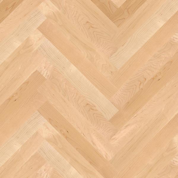 BOEN Prestige Maple Canadian Nature Matt Lacquered Engineered Herringbone Flooring