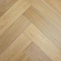 Elka Light Smoked Oak Engineered Herringbone Flooring