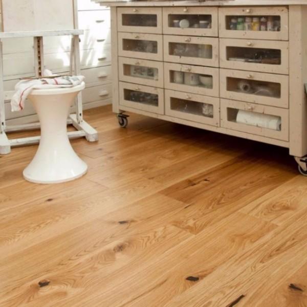 Elka Rustic UV Lacquered Oak Engineered Wood Flooring