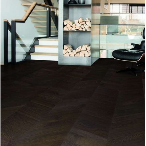 Quick-Step Intenso Intense Oak Oiled INT3901 Chevron Engineered Wood Flooring (D)