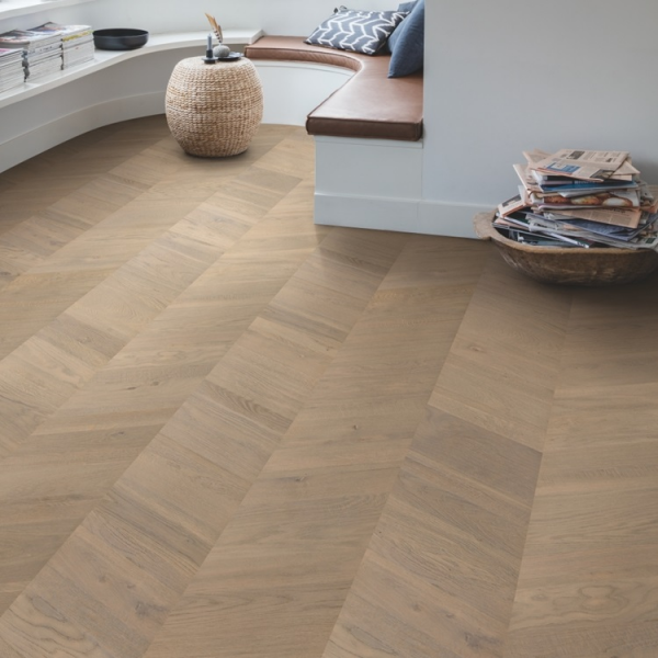 Quick-Step Intenso Eclipse Oak Oiled INT3903  Chevron Engineered Wood Flooring