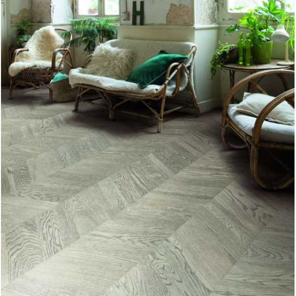 Quick-Step Intenso Industrial Oak Oiled INT3904 Chevron Engineered Wood Flooring