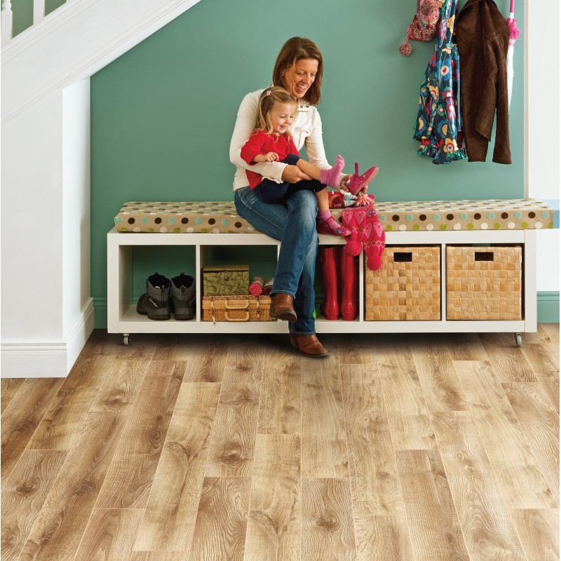 Laminate Flooring 12mm Thick Part - 42: Elka Barn Oak Laminate Flooring (12mm Thickness)