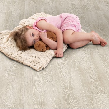 Elka Frosted Oak Laminate flooring (Thickness 8mm)