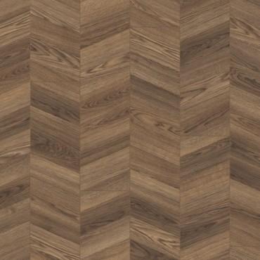Elka Chevron Storm Oak Laminate Flooring (8mm Thickness) (D) Limited Stock