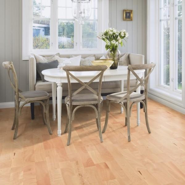 BOEN Beech Animoso 3- Strip 215mm Satin Lacquered Engineered Wood Flooring (D)