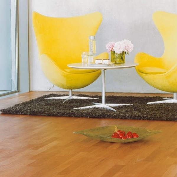 BOEN Cherry American 3-Strip 215 Natural Oil Lacquered Square Edge Engineered Wood Flooring