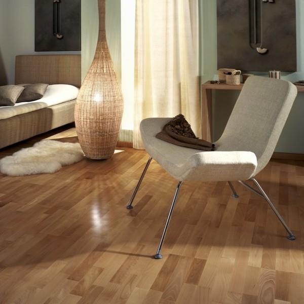 Kahrs Beech Viborg Satin Lacquered Engineered Wood Flooring