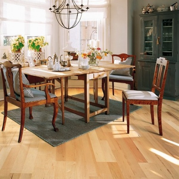 Kahrs Maple Spring Satin Lacquered Engineered Wood Flooring  (D) Limited Stock