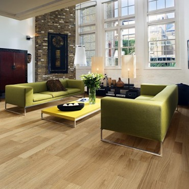 Kahrs Oak Breeze Satin Lacquered Brushed Engineered Wood Flooring  (D) Limited Stock