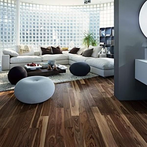 Kahrs Walnut Rain Oiled Engineered Wood Flooring  (D) Limited Stock
