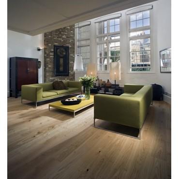 Kahrs Oak Calpe White Oiled Brushed Engineered Wood Flooring
