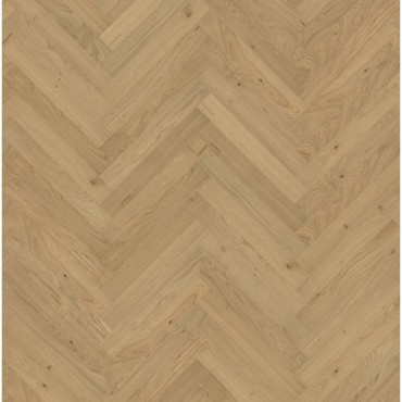 Kahrs Oak Herringbone Matt Laquered AB Engineered Parquet Flooring