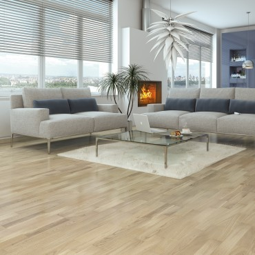 Norske Oak Askim Matt Lacquered Engineered Wood Flooring