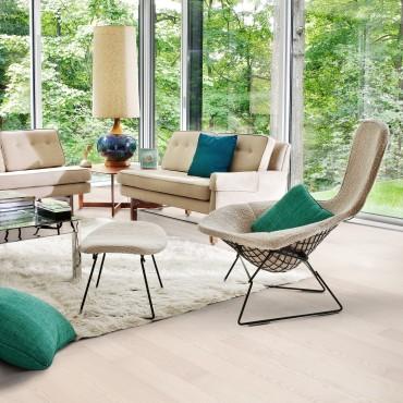 Kahrs Ash Air Matt Lacquered Engineered Wood Flooring