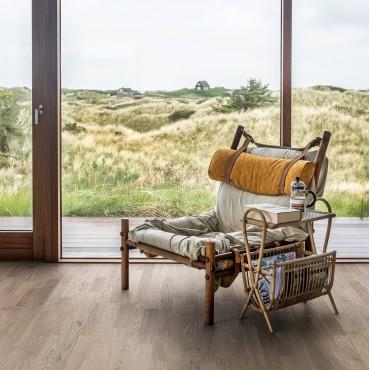 Kahrs Oak Eclipse 3-Strip Ultra Matt Lacquered Brushed Engineered Wood Flooring
