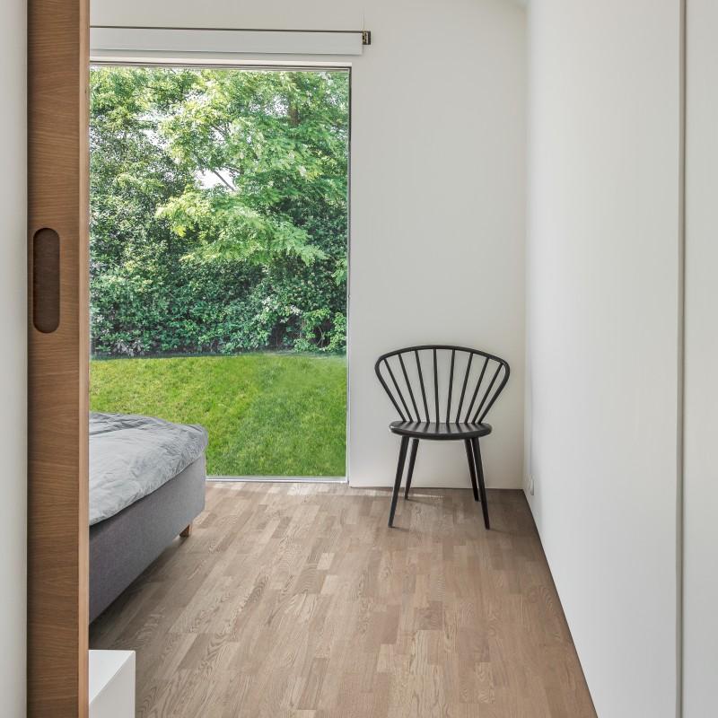 Kahrs Oak Twilight 3-Strip Ultra Matt Lacquered Brushed Engineered Wood Flooring