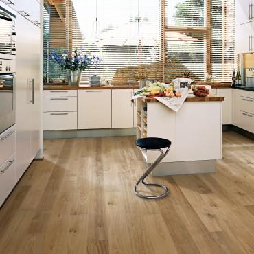 Kahrs Oak Sun Ultra Matt Lacquered Engineered Wood Flooring