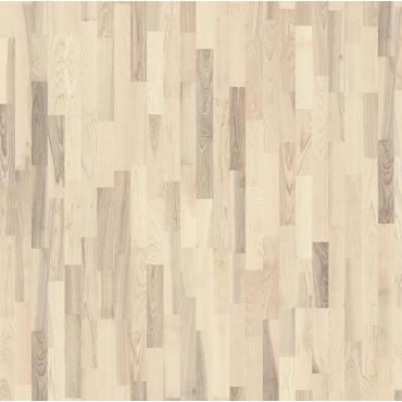 Kahrs Ash Drift 3-Strip Ultra Matt Lacquered Brushed Engineered Wood Flooring (D) Limited Stock !!!!