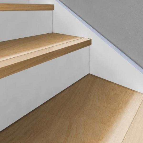 Solid Woodloc® Stair nosing 60X35 MM 1200m