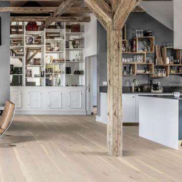 Kahrs Oak Nouveau Lace Matt Lacquered Engineered Wood Flooring