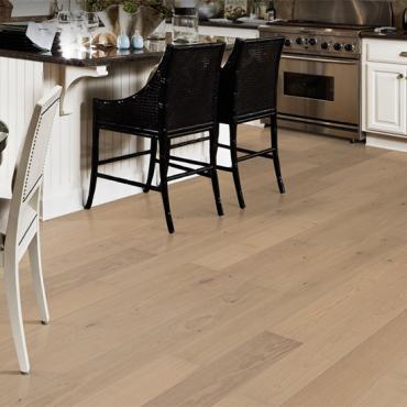 Kahrs Oak Nouveau White Matt Lacquered Engineered Wood Flooring
