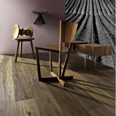 Kahrs Oak Telledo Smoked, Scraped & Oiled Engineered Wood Flooring