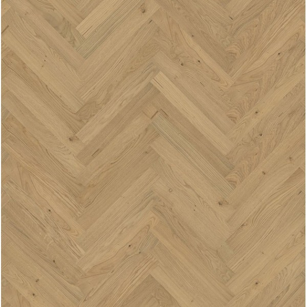Kahrs Oak CD Natural Herringbone Matt Engineered Parquet Flooring