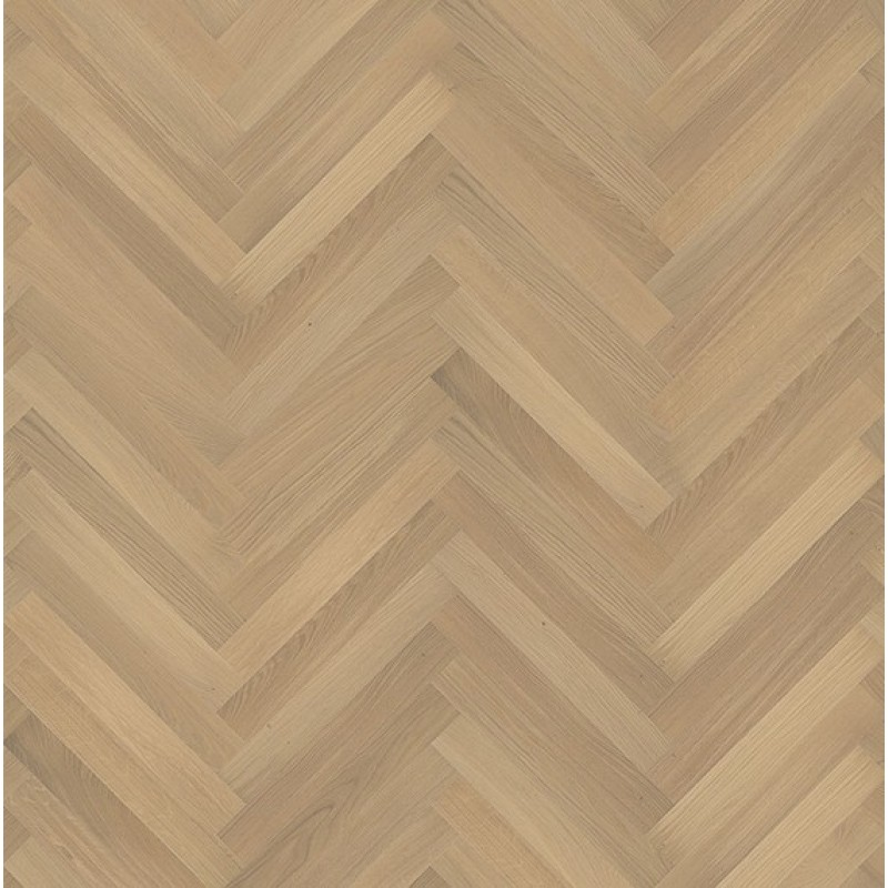 Kahrs oak herringbone ab white matt lacquered for Kahrs flooring