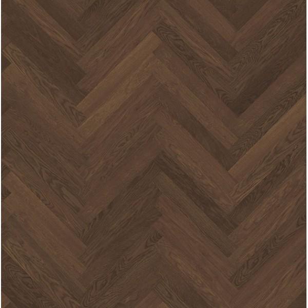 Kahrs Walnut Herringbone Oiled Engineered Parquet Flooring