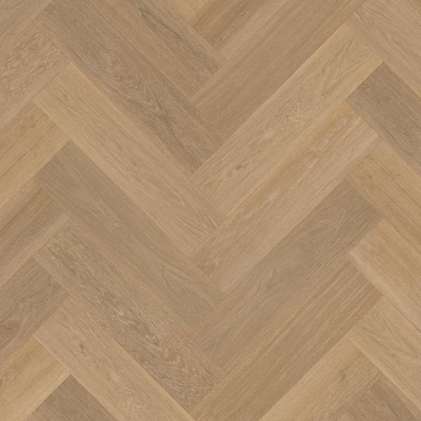 Van Gogh Rigid Core Warm Brushed Oak Herringbone Click Luxury Vinyl Flooring SM- VGW121T