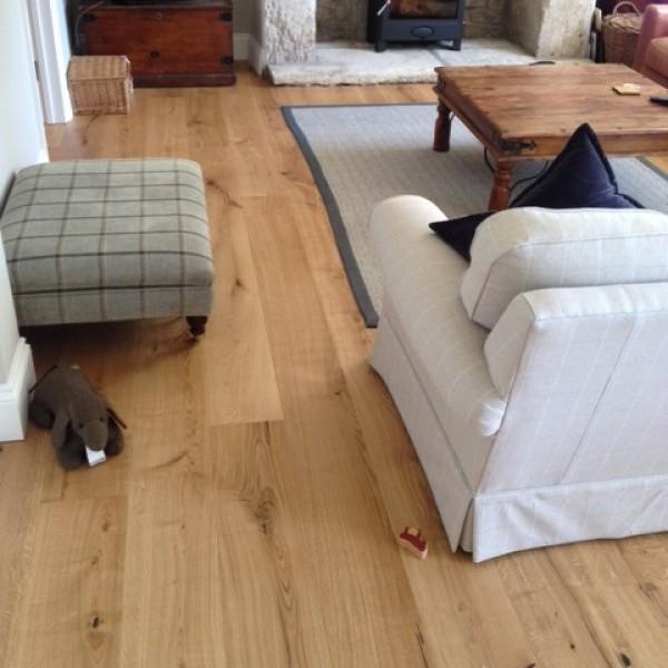 Norske Oak Sperling Matt Lacquered Engineered Wood Flooring
