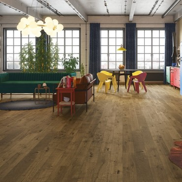 Norske Oak Bergen Matt Lacquered Engineered Wood Flooring