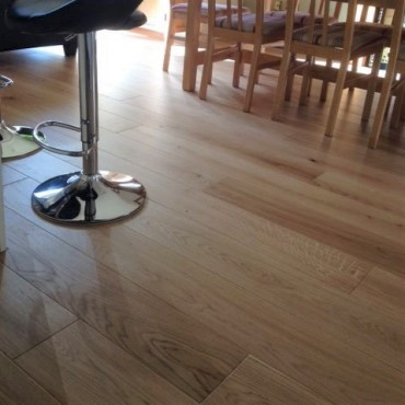 Norske Oak Arendal Brushed Matt Lacquered Engineered Wood Flooring