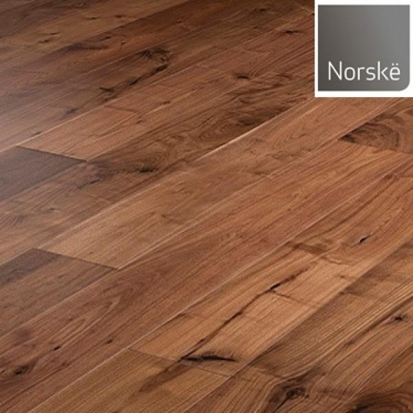 Norske Walnut Phoenix Lacquered Engineered Wood Flooring (D)