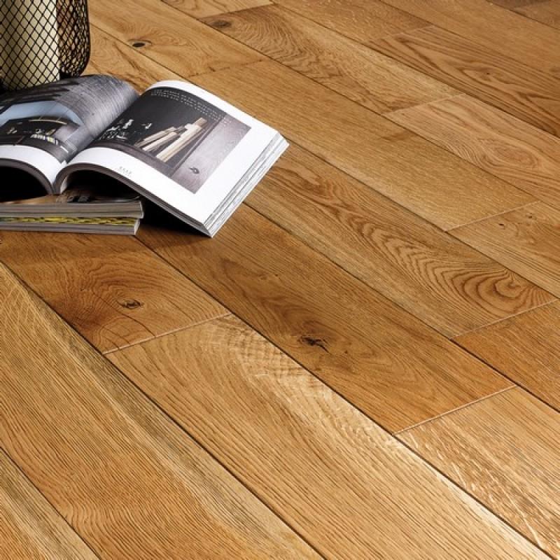 OFD Oak Europa Lacquered Engineered Wood Flooring